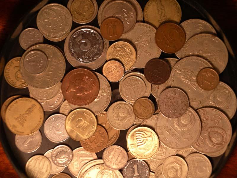 Как сделать пол из монет - пол из монет своими руками.